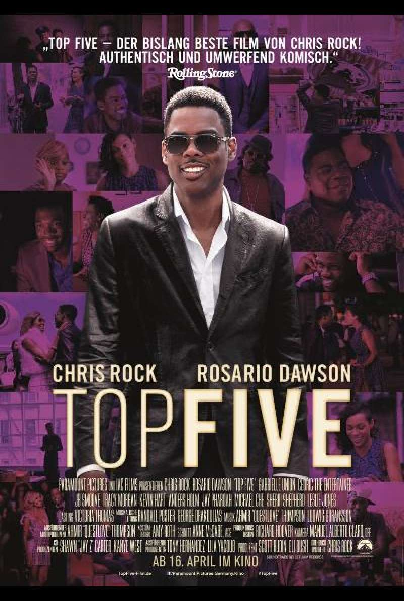 Top Five - Filmplakat