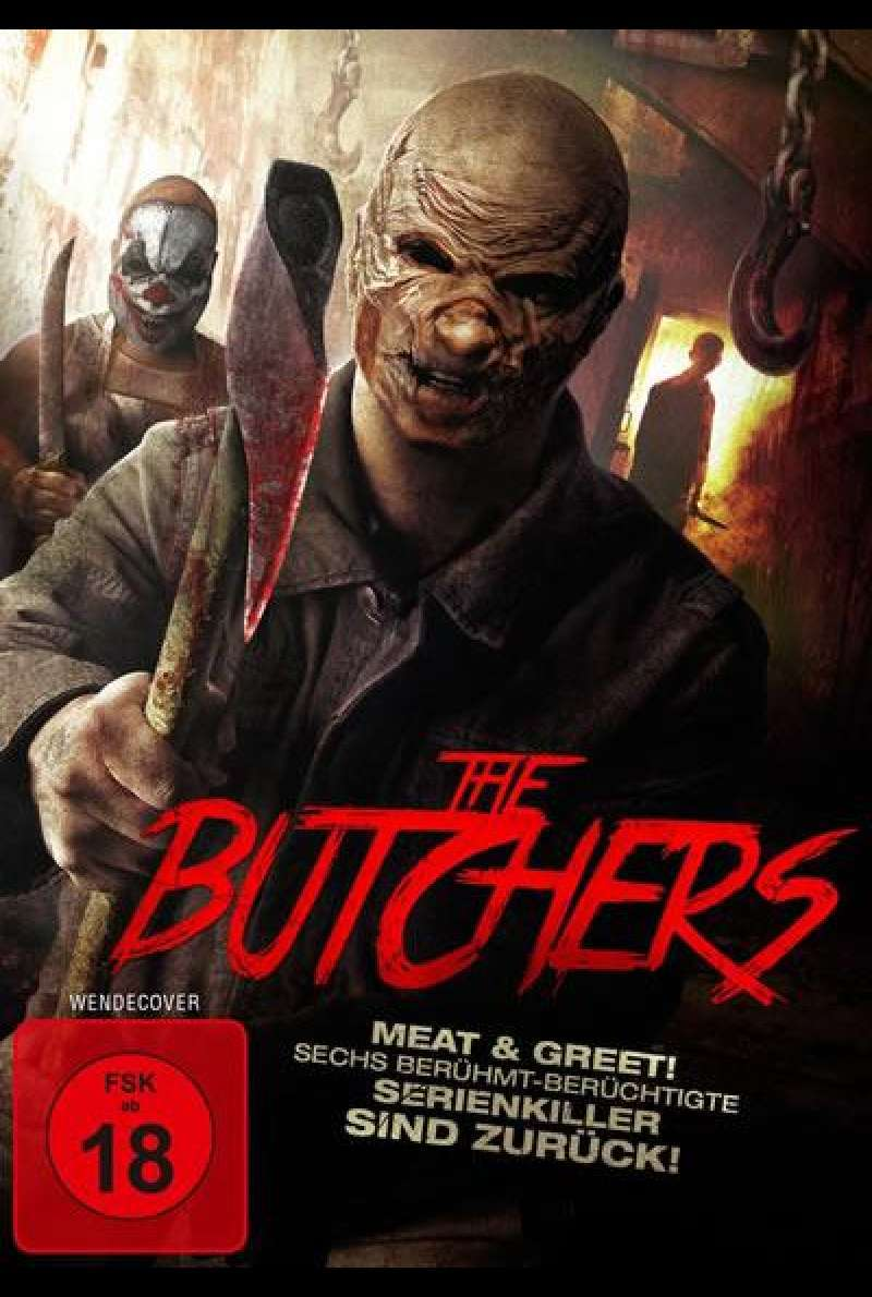 The Butchers - Meat & Greet - DVD-Cover