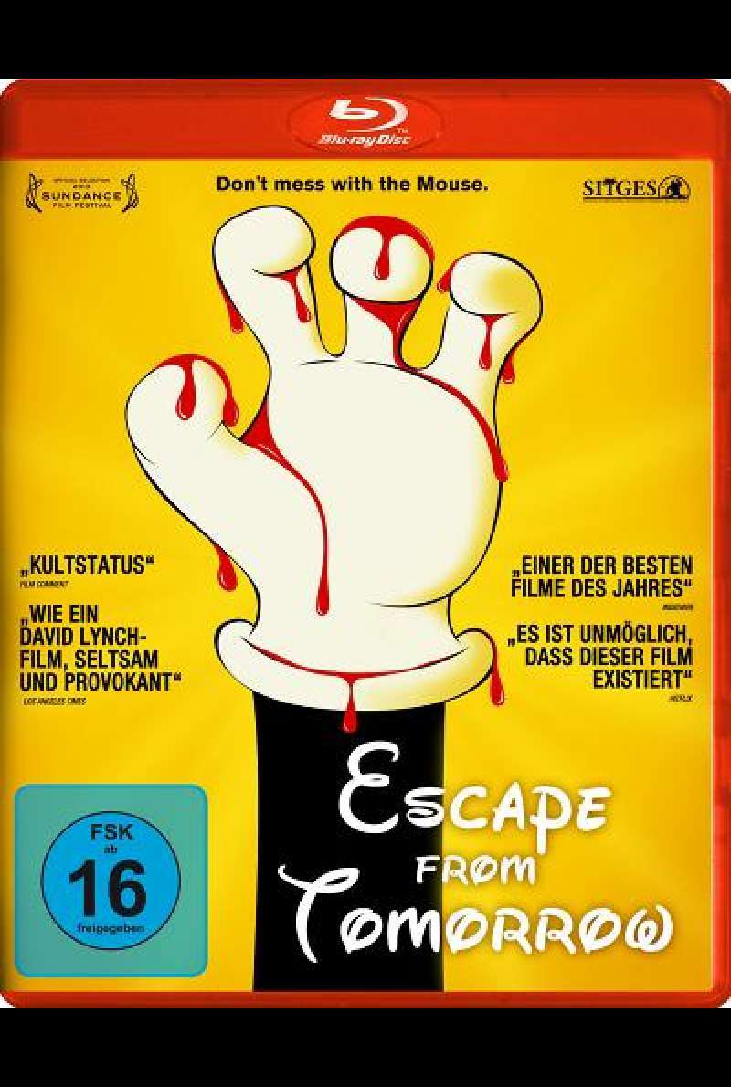 Escape from Tomorrow - Blu-ray Cover