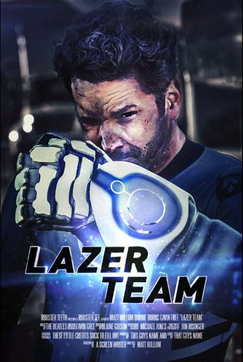 Lazer Team - Filmplakat (US)
