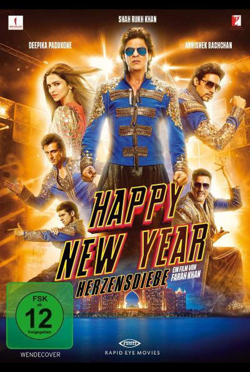 Happy New Year - Herzensdiebe - DVD-Cover