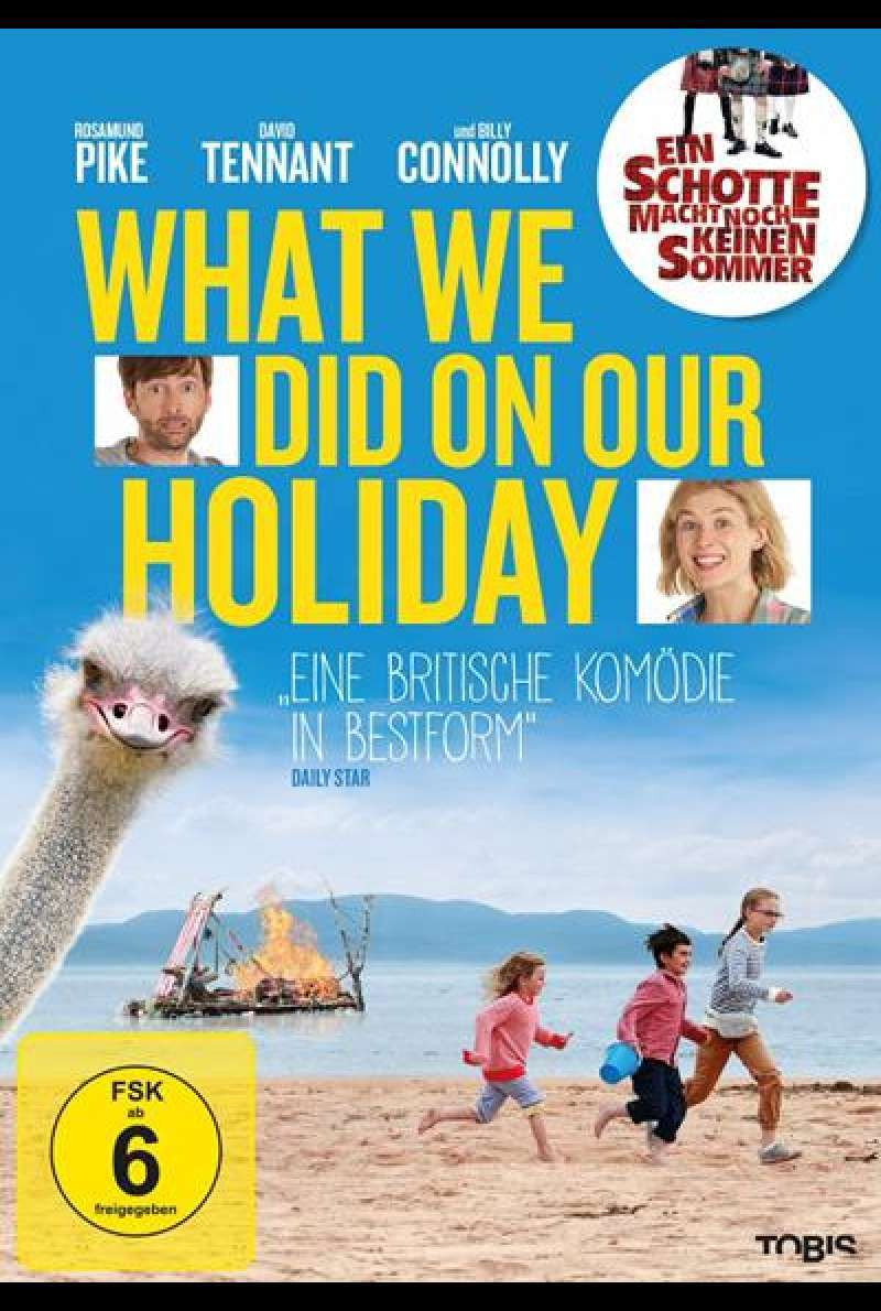 What We Did On Our Holiday - Ein Schotte macht noch keinen Sommer - DVD-Cover