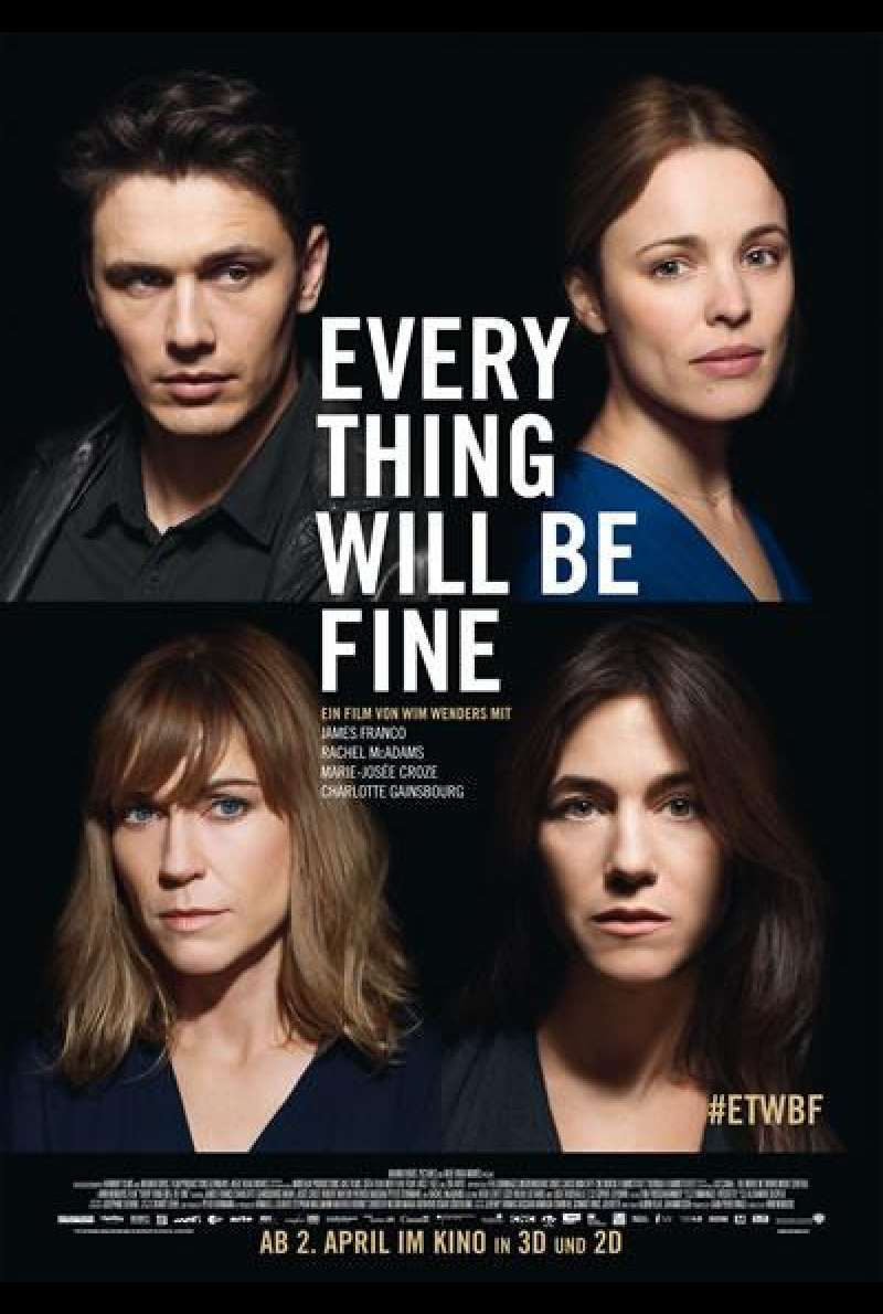 Every Thing Will Be Fine - Filmplakat