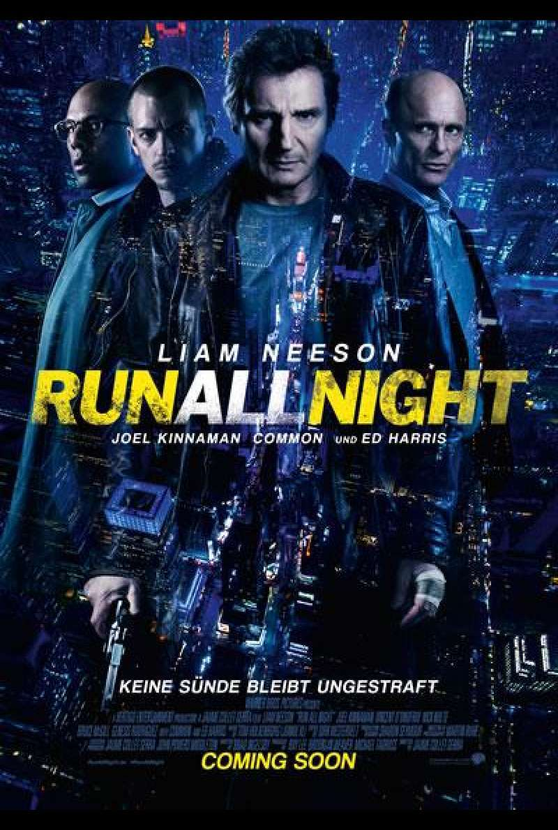 Run All Night - Filmplakat