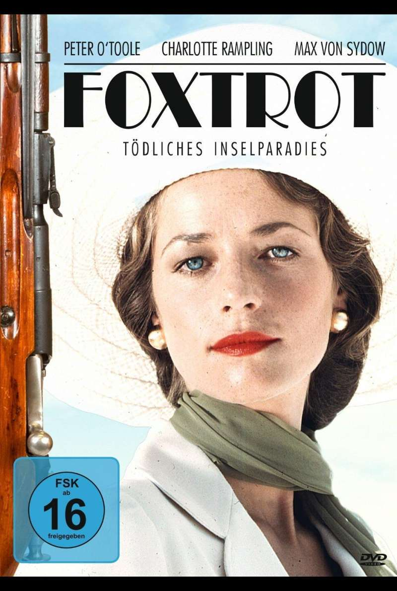 Foxtrot - Tödliches Inselparadies - DVD-Cover