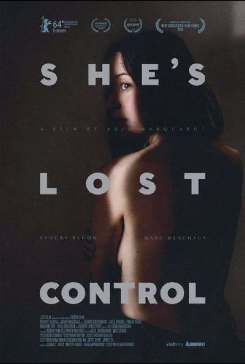 She's Lost Control - Filmplakat (INT)