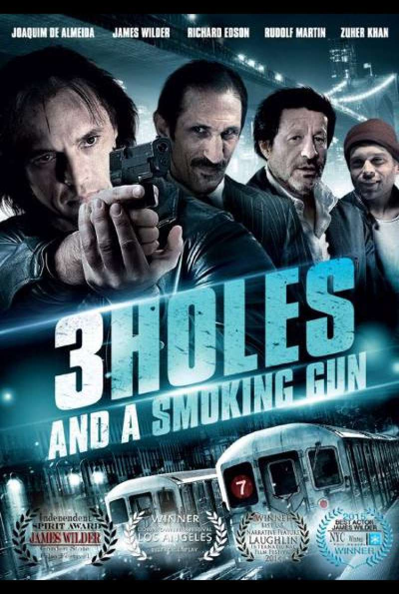 3 Holes and a Smoking Gun - Filmplakat (US)