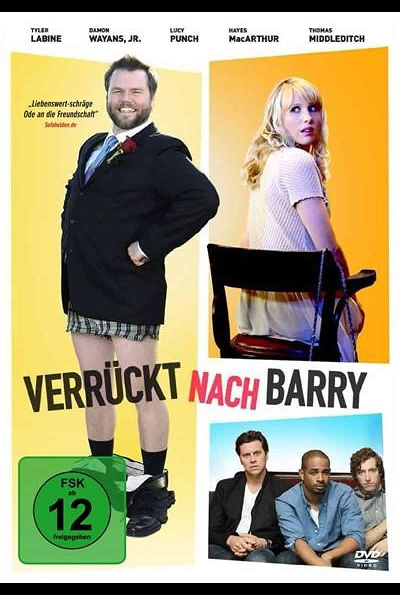 Verrückt nach Barry - DVD-Cover