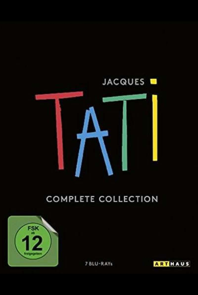 Jacques Tati Complete Collection - Blu-ray-Cover