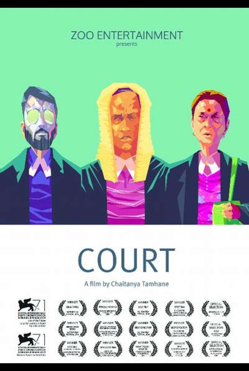 Court - Filmplakat (US)