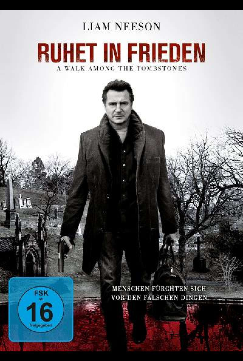 Ruhet in Frieden - A Walk among the Tombstones - DVD-Cover