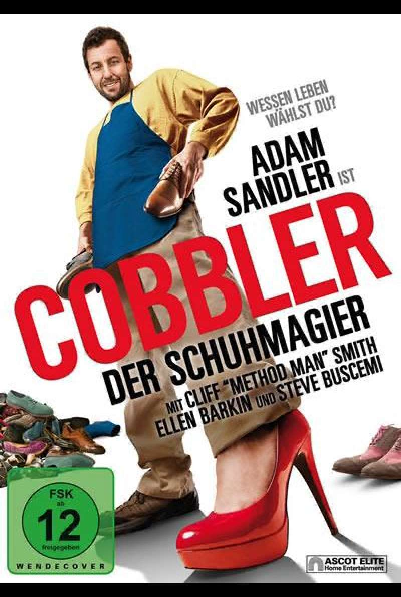 The Cobbler - DVD-Cover