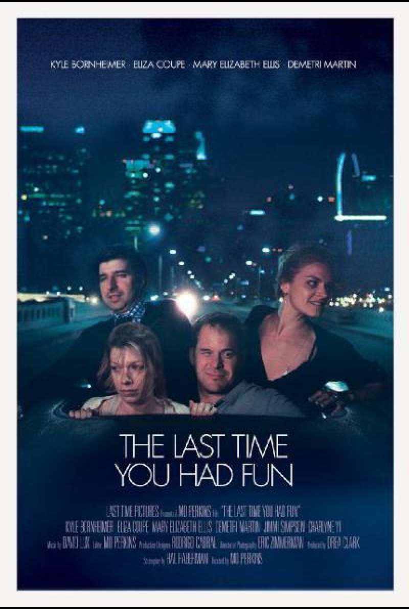 The Last Time You Had Fun - Filmplakat (US)