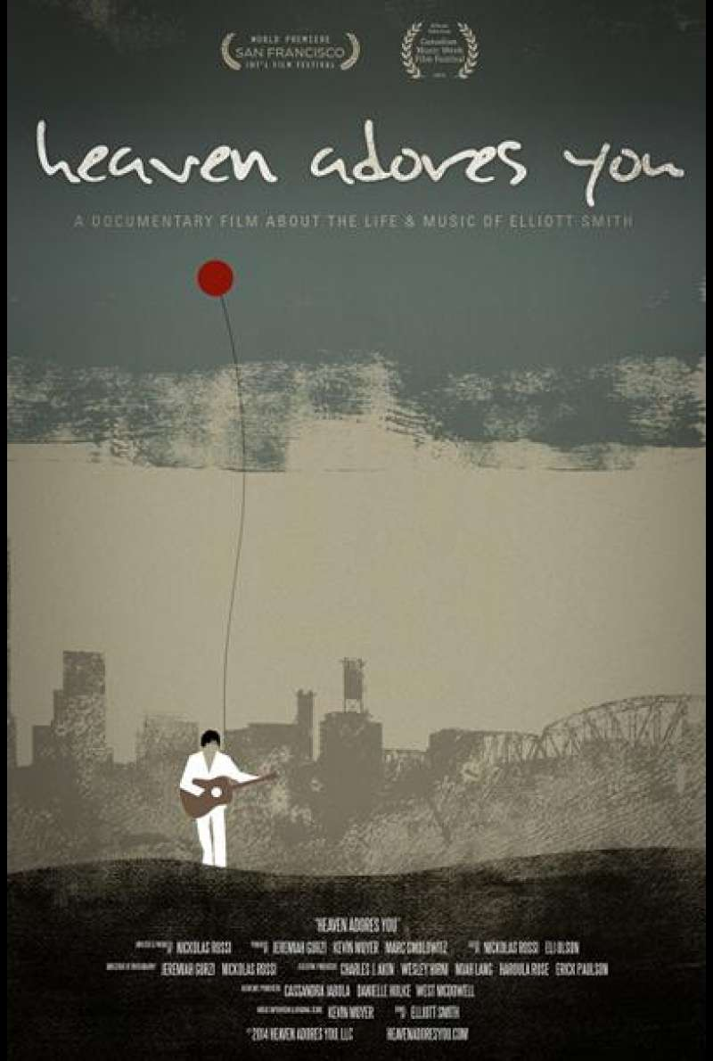 Heaven Adores You - Filmplakat (US)