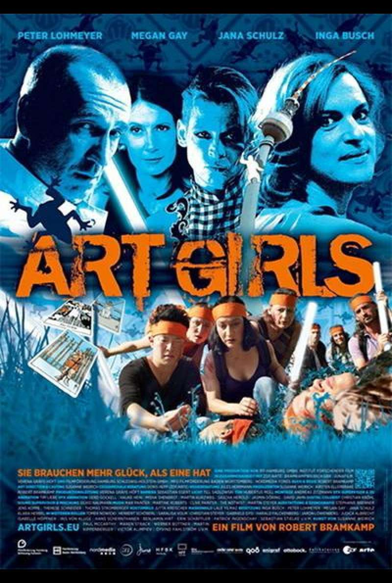 Art Girls - Filmplakat