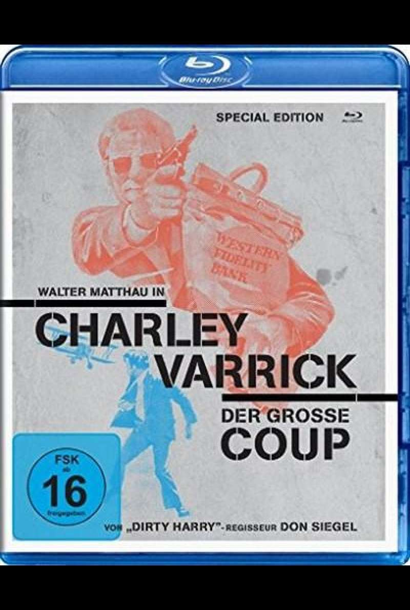 Charley Varrick - Der Große Coup - Blu-ray-Cover