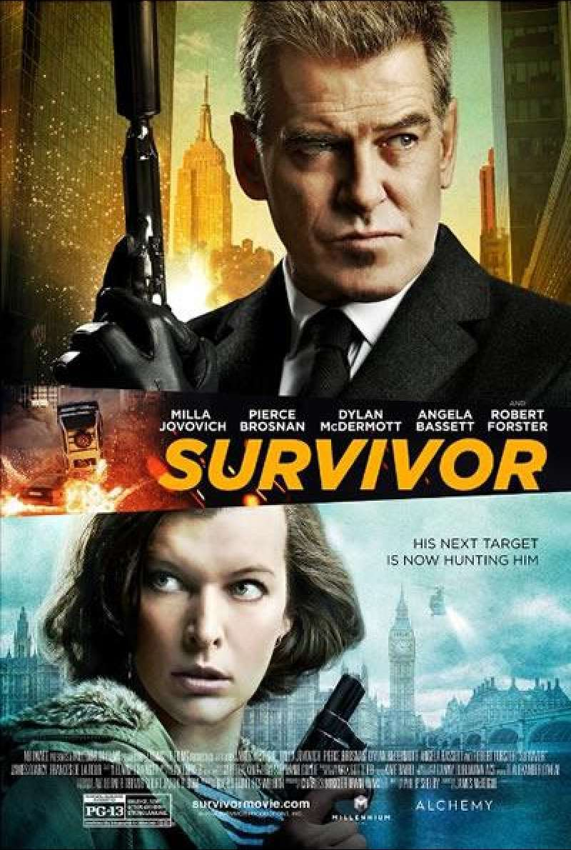 Survivor - Filmplakat (US)