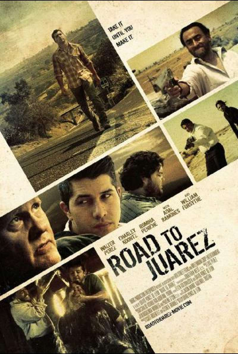 Road to Juarez - Filmplakat (US)