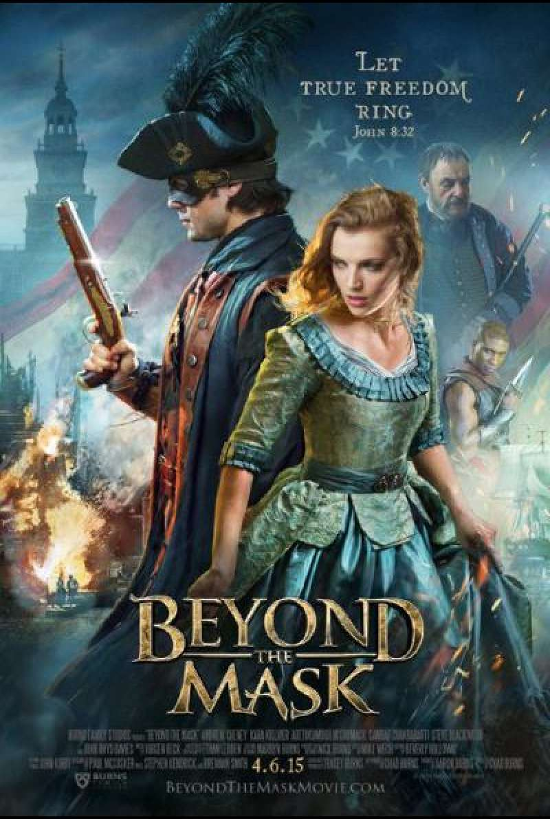 Beyond the Mask - Filmplakat (US)