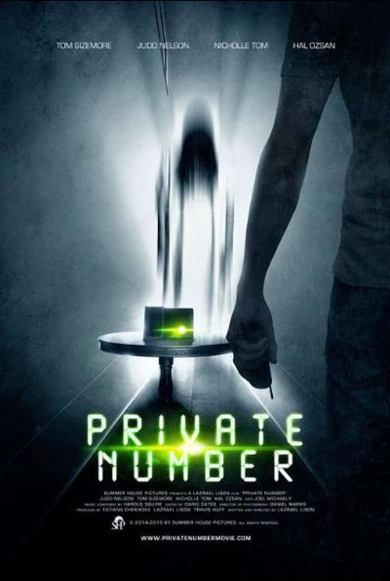 Private Number - Filmplakat (US)