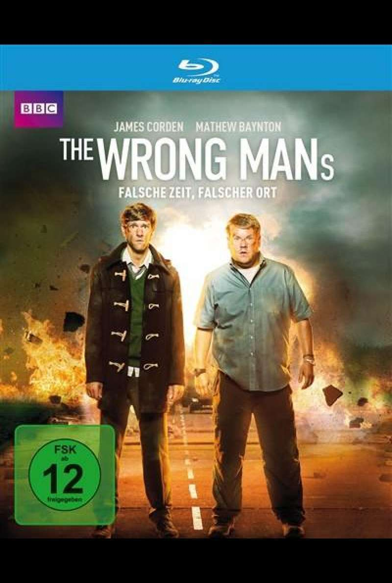 The Wrong Mans - Falsche Zeit, falscher Ort - Blu-ray-Cover