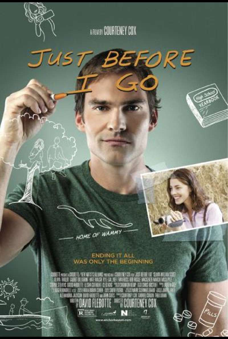 Just Before I Go - Filmplakat (US)
