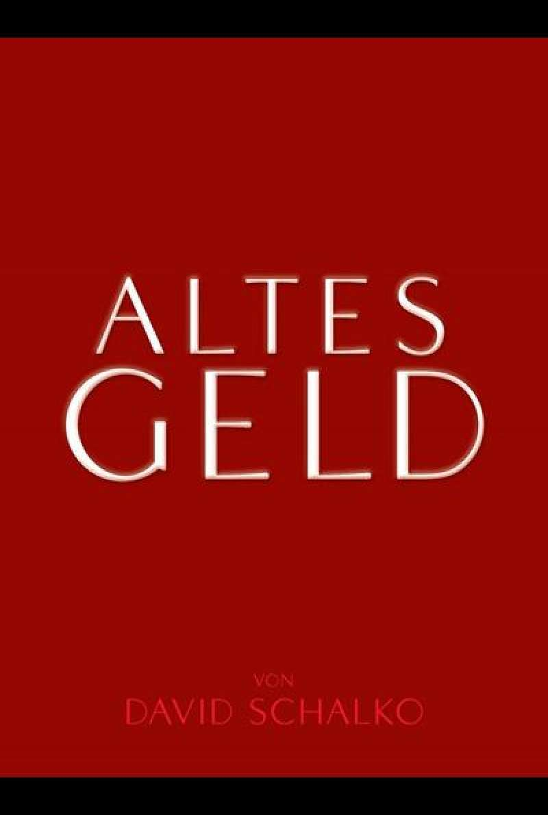 Altes Geld - DVD-Cover