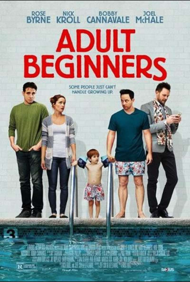 Adult Beginners - Filmplakat (US)