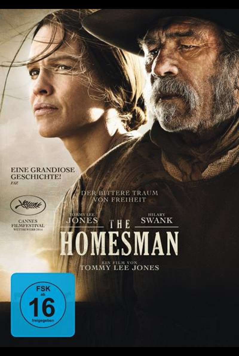 The Homesman - DVD-Cover