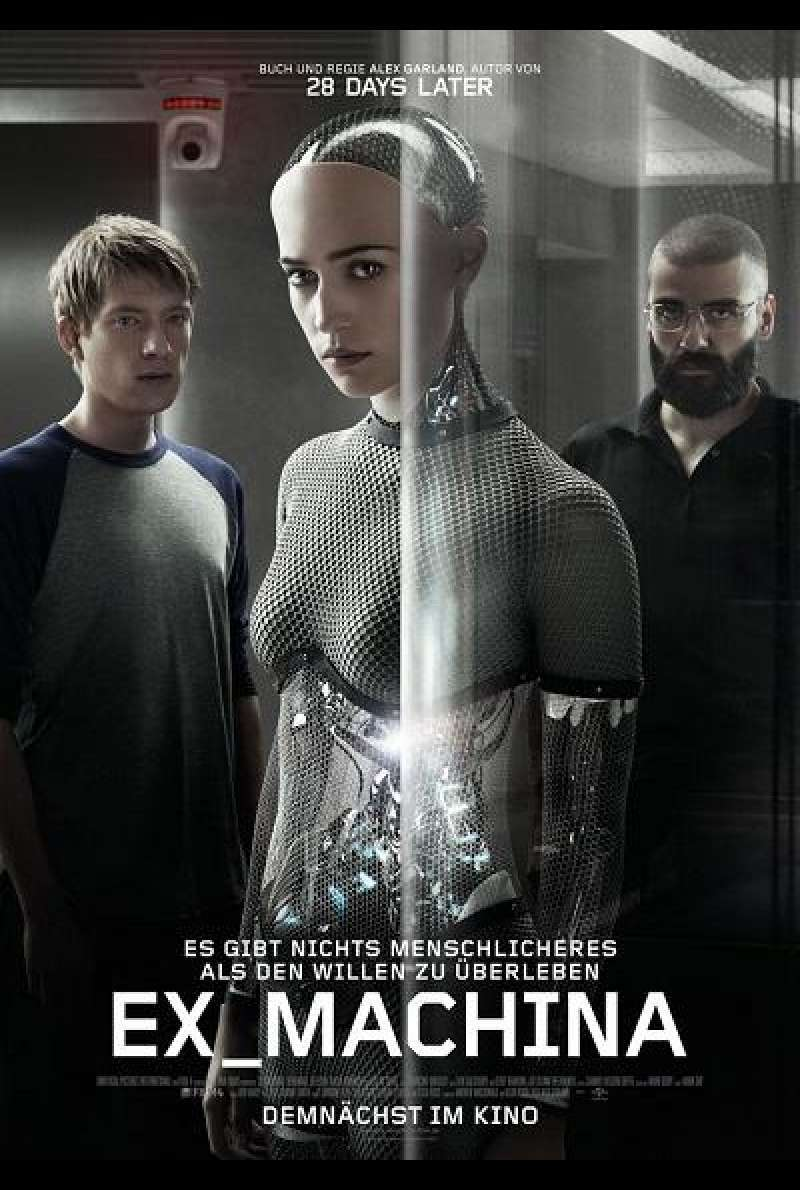 Ex Machina - Filmplakat