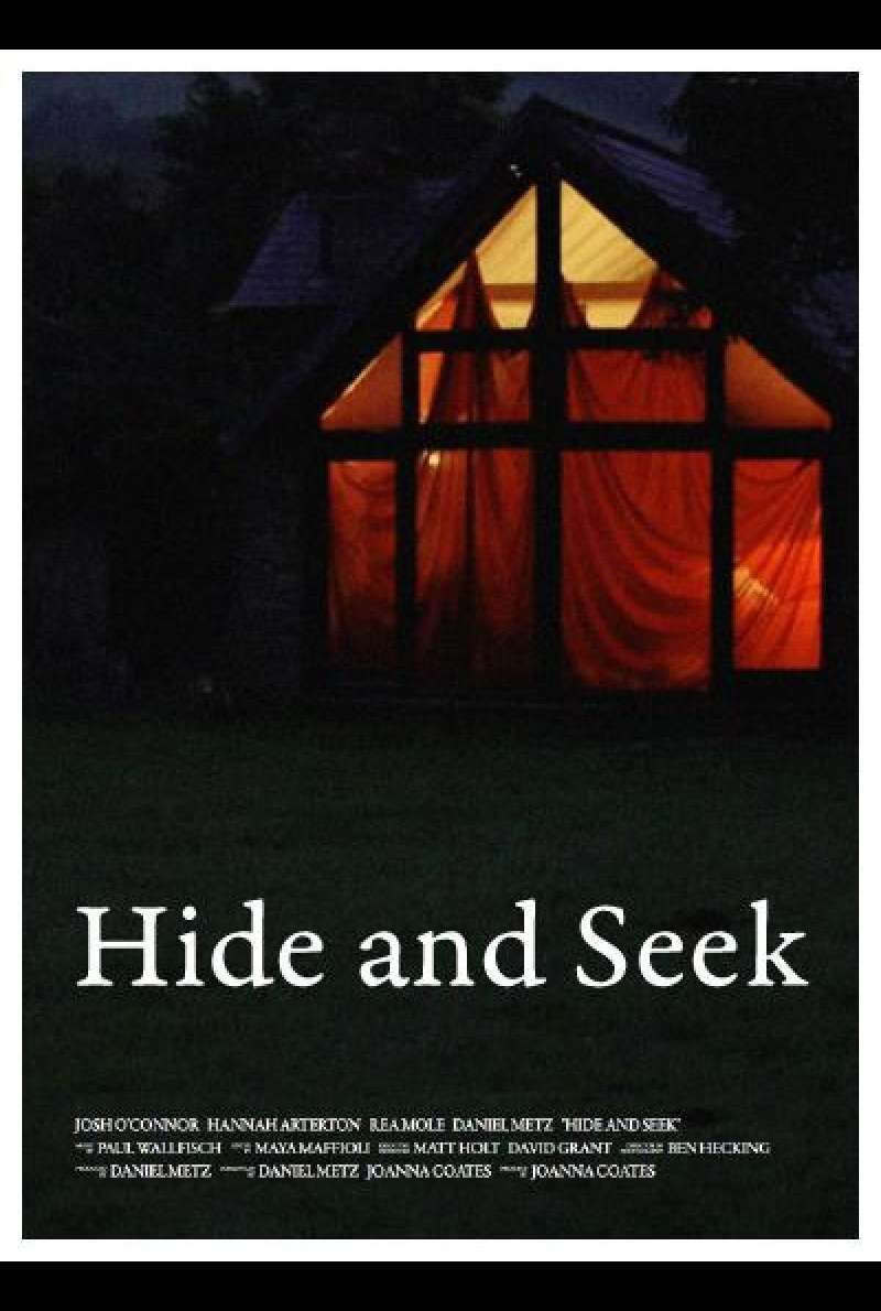Hide and Seek (2015) - Filmplakat (UK)