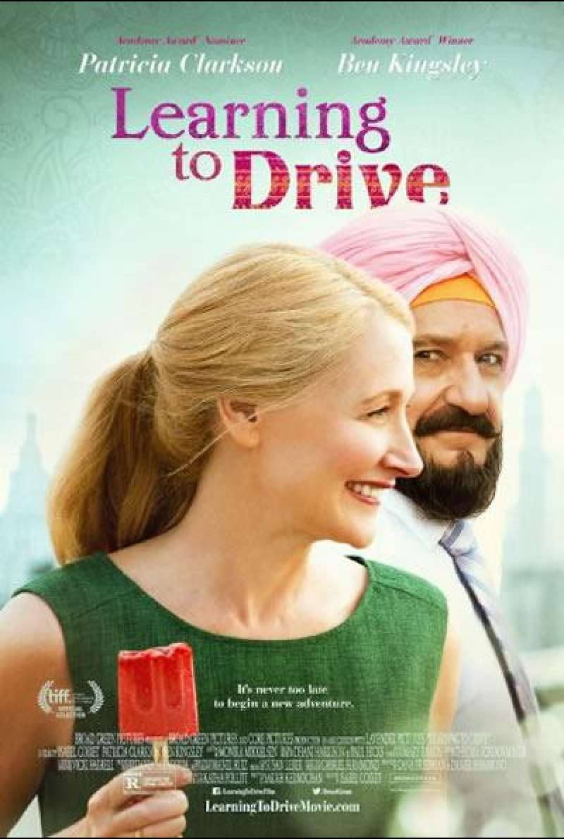 Learning to Drive - Filmplakat (US)