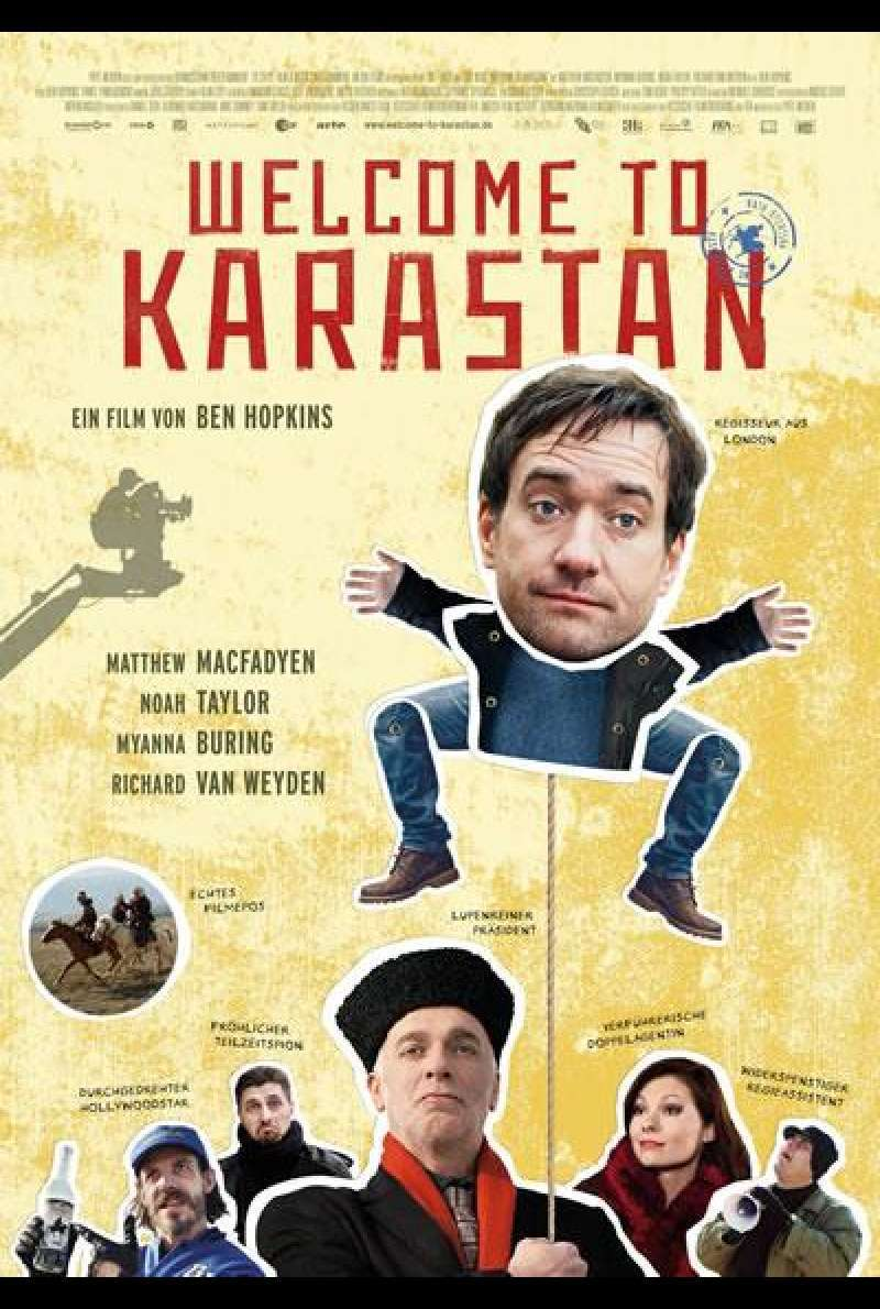 Welcome to Karastan - Filmplakat