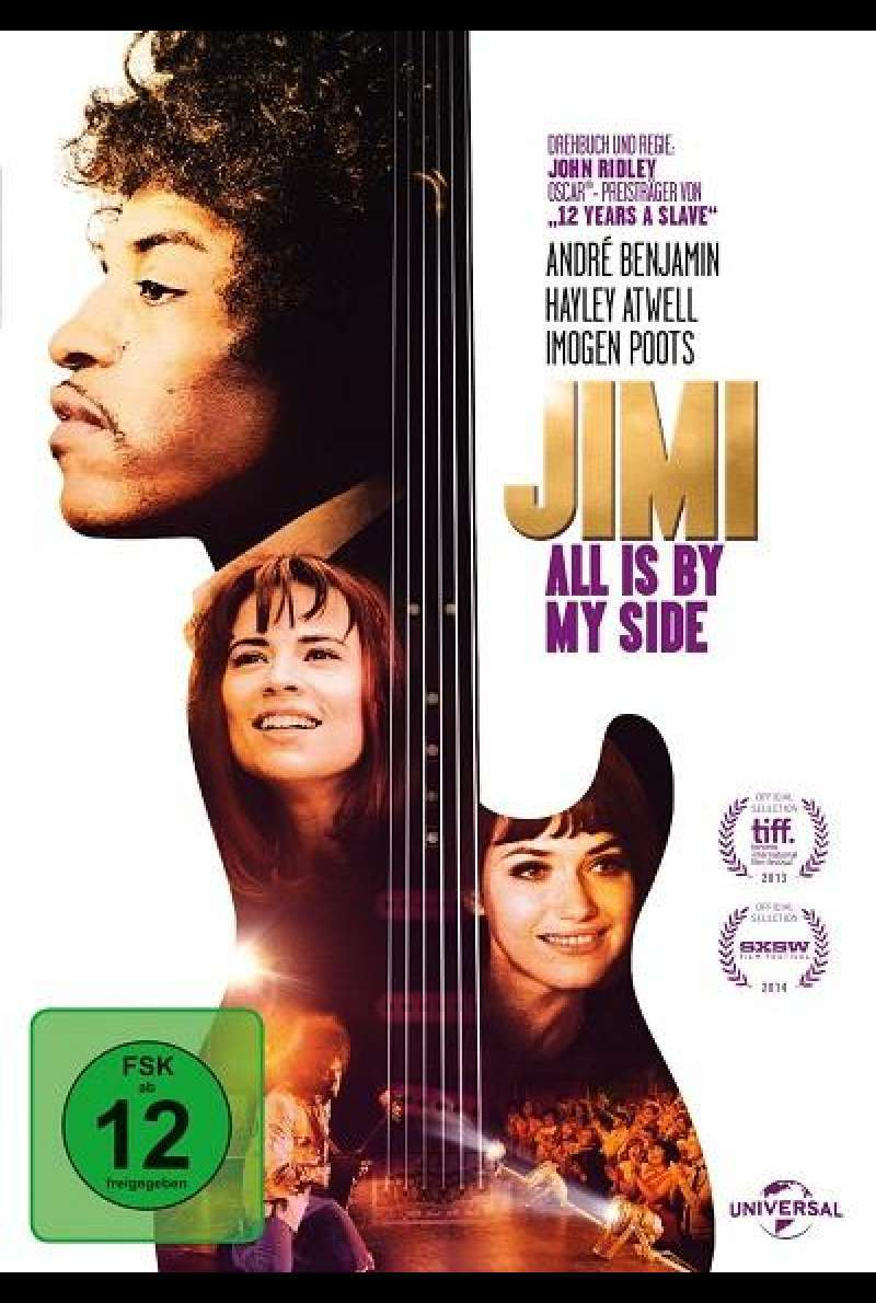 Jimi: All Is By My Side - DVD-Cover