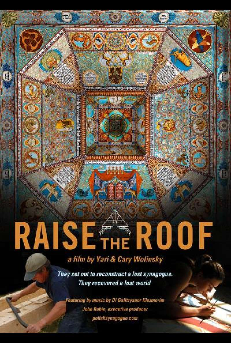 Raise the Roof - Filmplakat (INT)