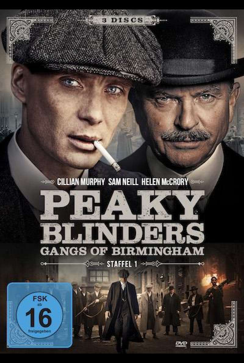 Peaky Blinders - Gangs of Birmingham (Staffel 1) - DVD-Cover