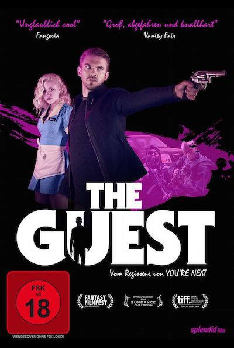 The Guest - DVD-Cover