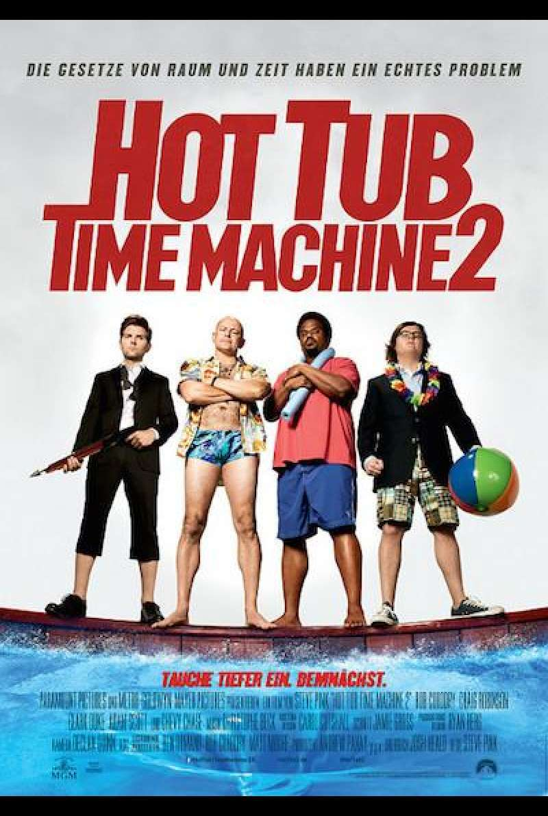 Hot Tub Time Machine 2 - Filmplakat