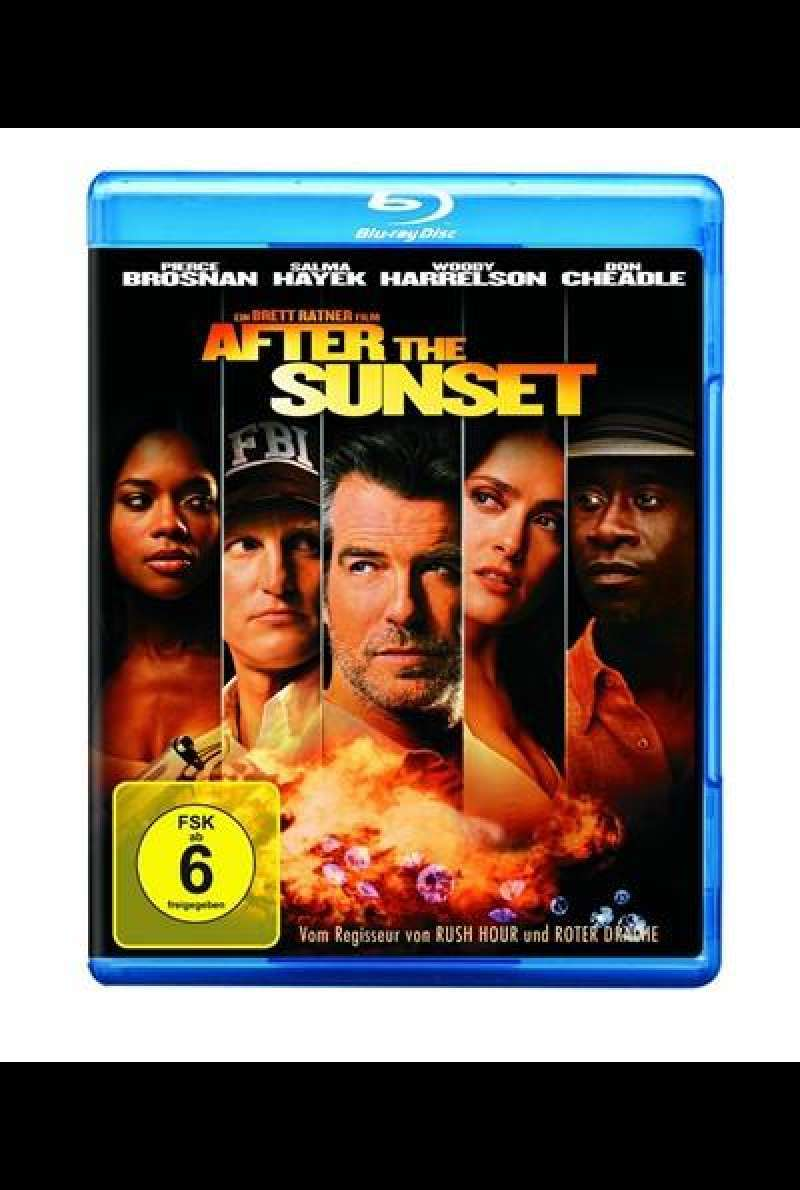 After the Sunset - Blu-ray-Cover