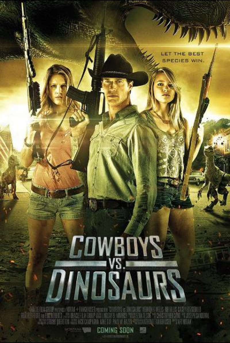 Cowboys vs. Dinosaurs - Filmplakat (US)