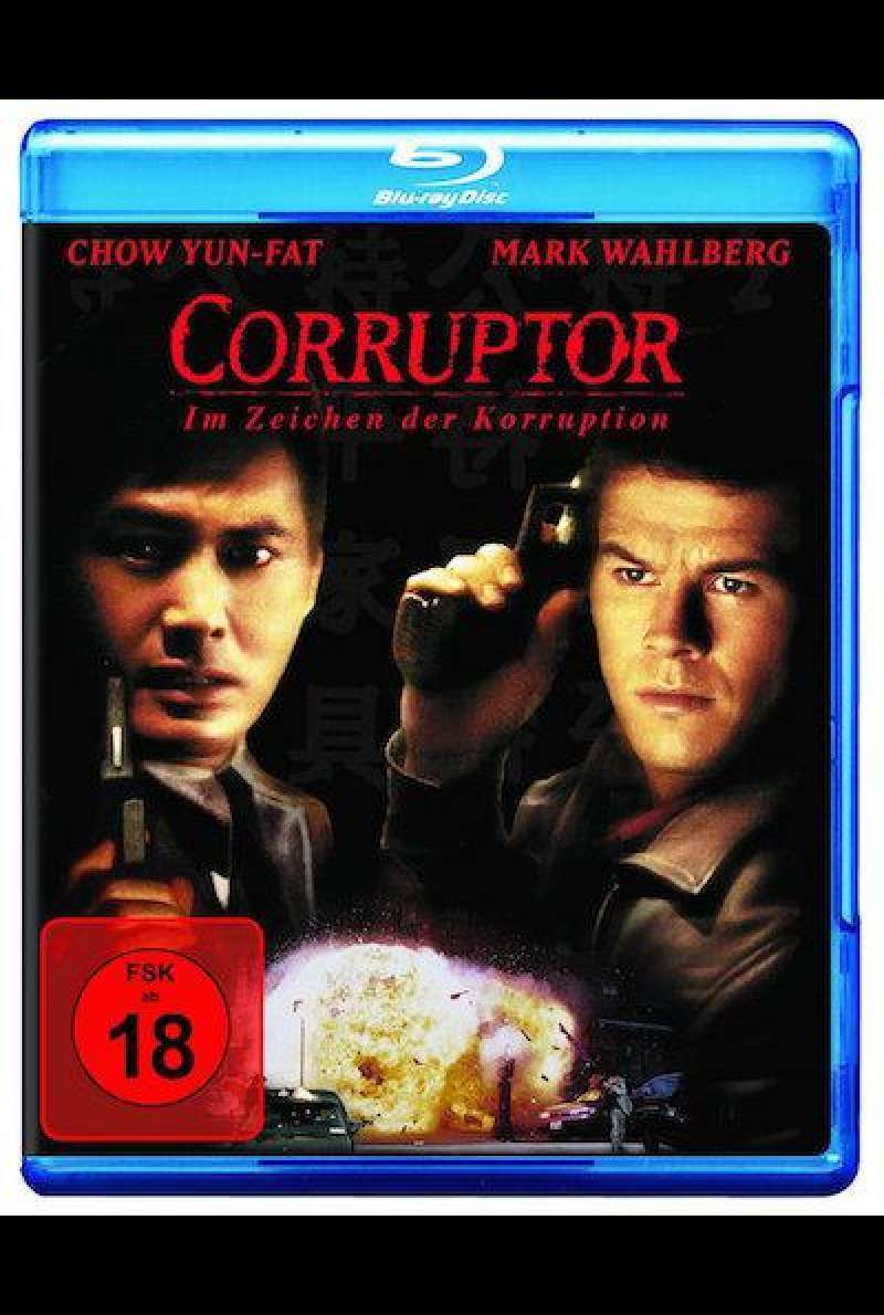 The Corruptor - Im Zeichen der Korruption - Blu-ray Cover