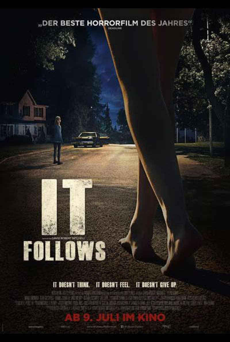 It Follows - Filmplakat