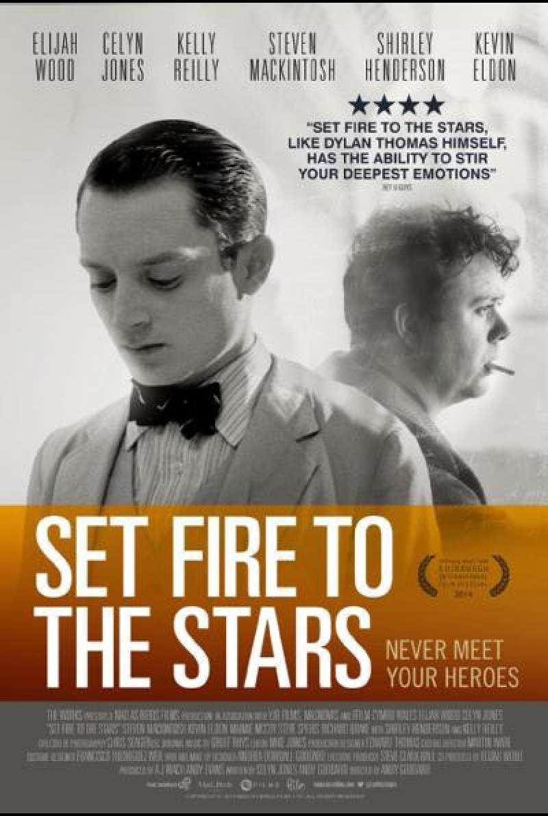 Set Fire To The Stars - Filmplakat (US)