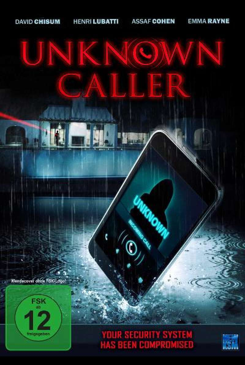 Unknown Caller - DVD-Cover