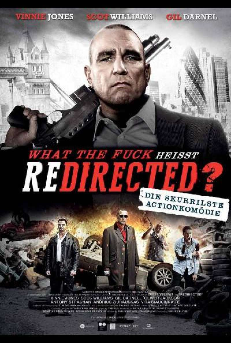 What the Fuck heißt REDIRECTED? - Filmplakat
