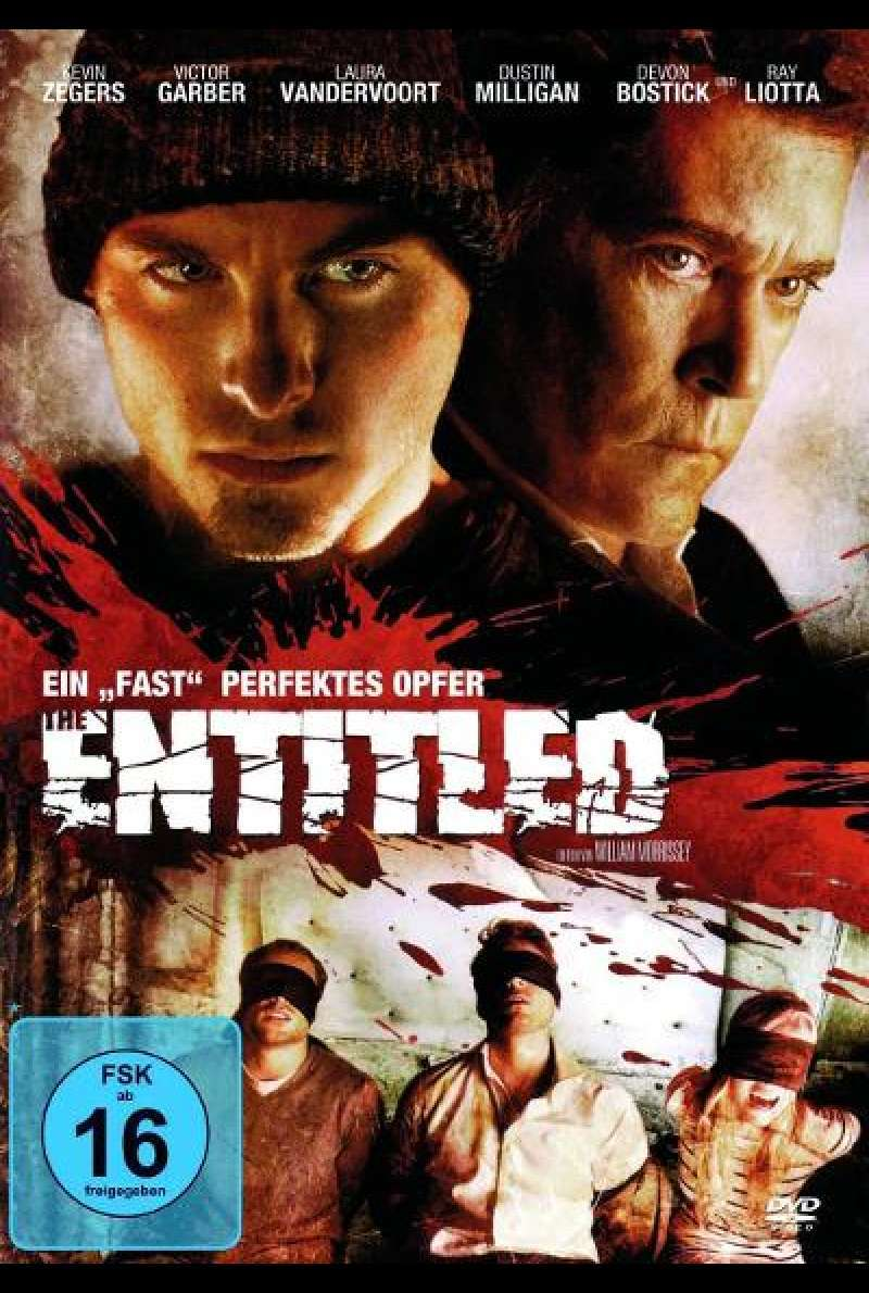 "The Entitled - Ein ""fast"" perfektes Opfer - DVD-Cover"