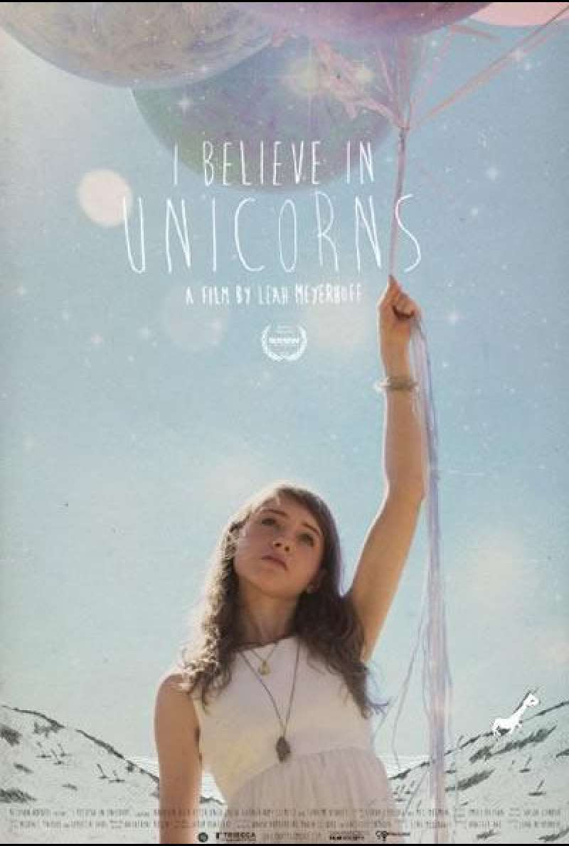 I Believe in Unicorns - Filmplakat (US)