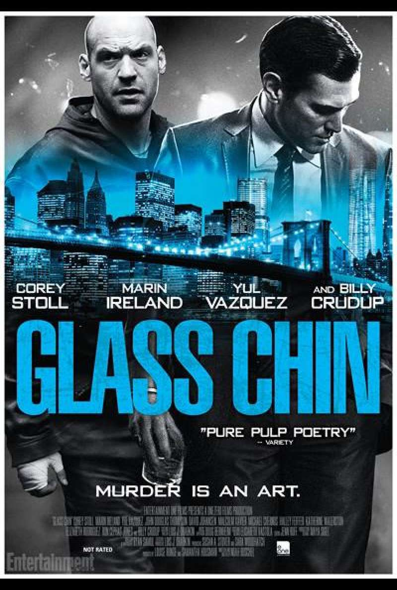 Glass Chin - Filmplakat (US)