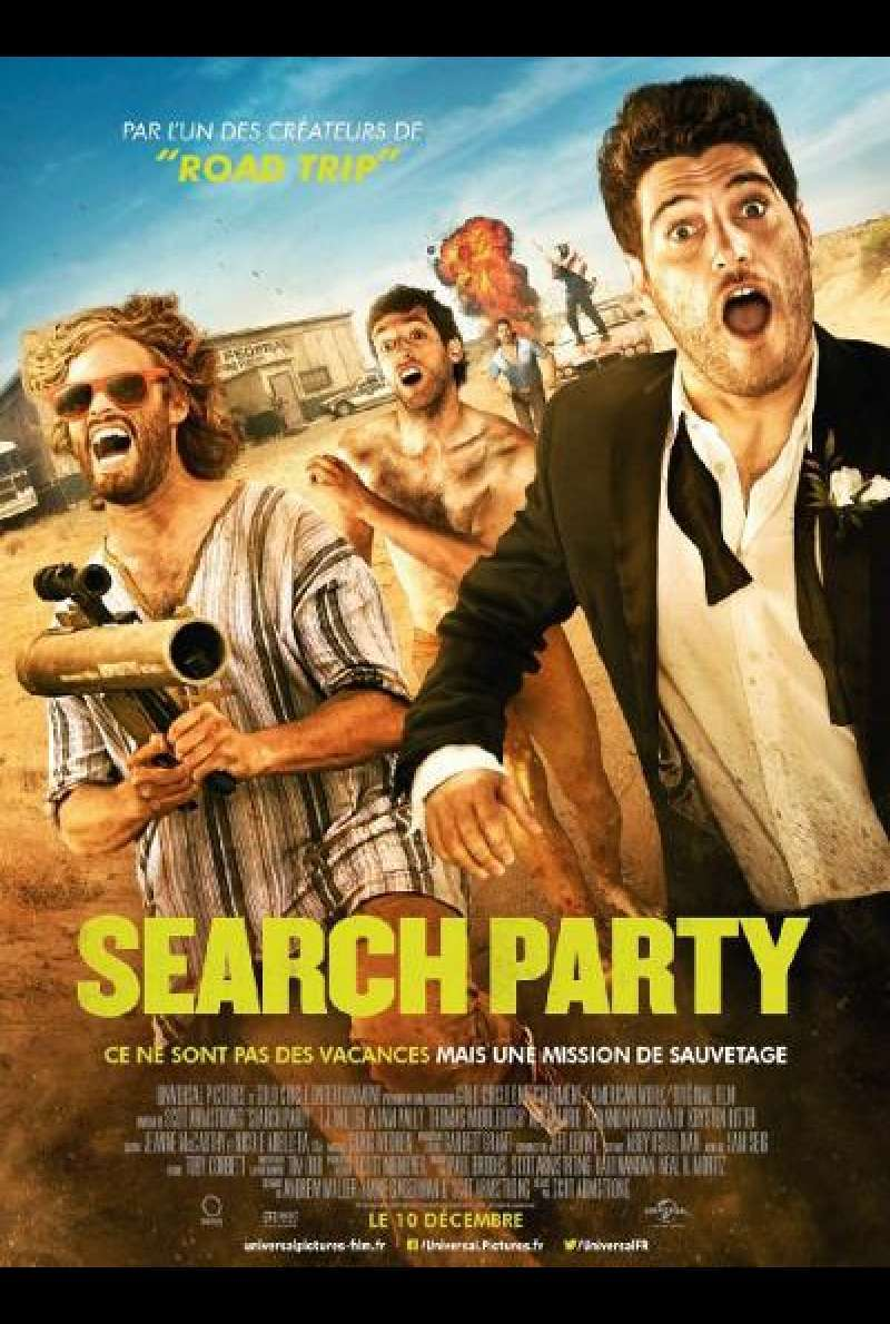 Search Party - Filmplakat (US)