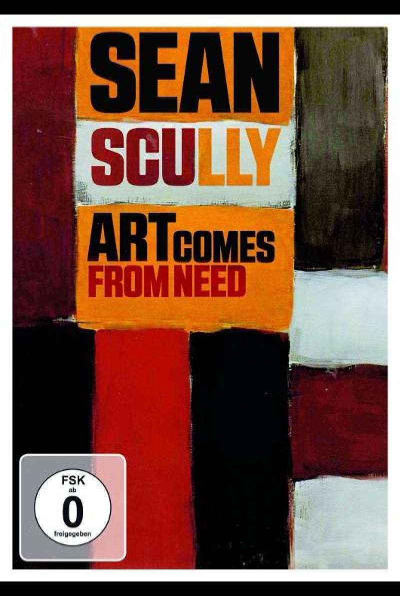 Sean Scully - Art comes from need - DVD-Cover